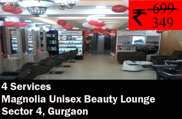 Magnolia Unisex Beauty Lounge, Sector 4 Gurgaon