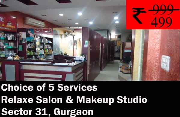 Relaxe Salon & Makeup Studio- Sector 31