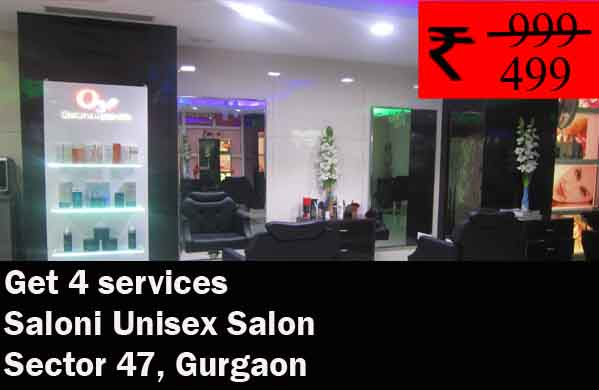 Saloni Unisex Salon - Sector 47, Gurgaon