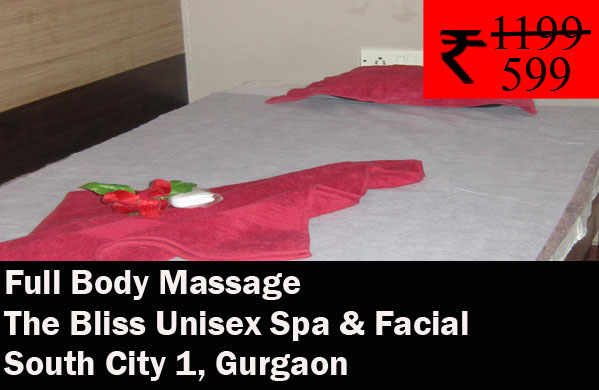 The Bliss Unisex Spa & Facial - South City 1, Gurgaon