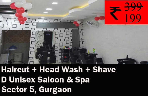 D Unisex Saloon & Spa - Sector 5, Gurgaon