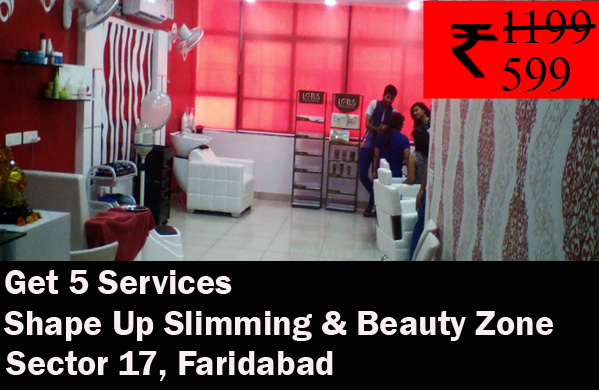 Shape Up Slimming & Beauty Zone - Sector 17, Faridabad