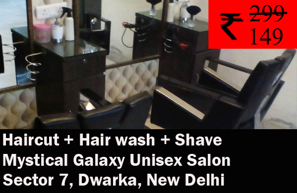 Mystical Galaxy Unisex Salon - Sector 77, Dwarka