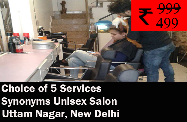 Synonyms Unisex Salon - Uttam Nagar