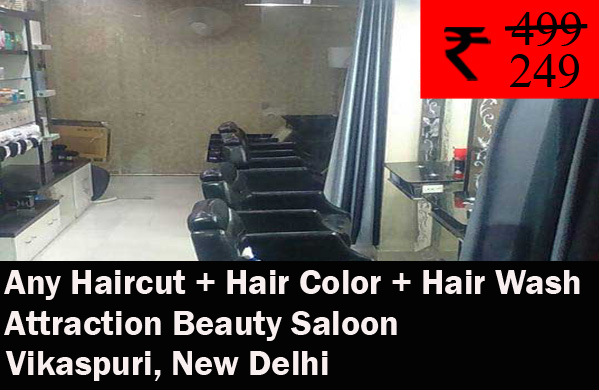 Attraction Beauty Saloon- Vikaspuri