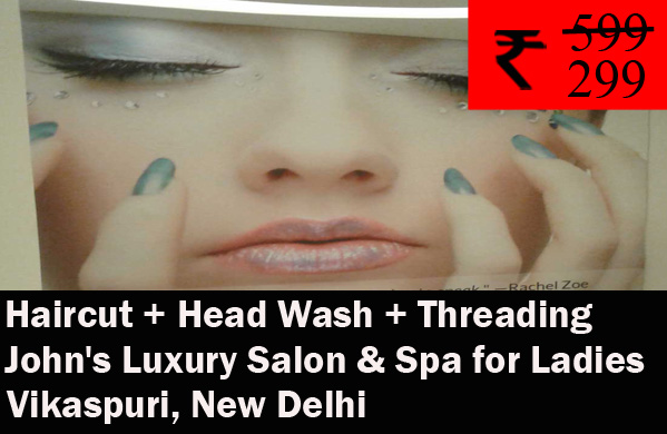 John's Luxury Salon & Spa for Ladies - Vikaspuri