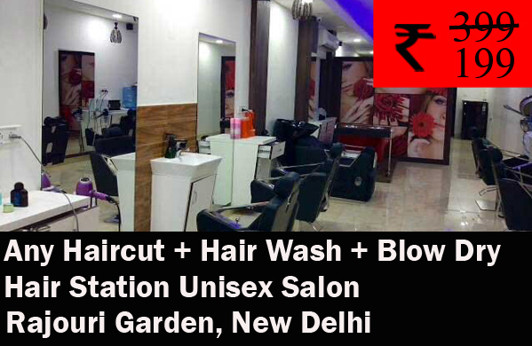 Hair Station Unisex Salon - Rajouri Garden