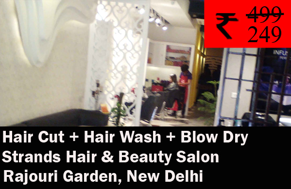Strands Hair & Beauty Salon- Rajouri Garden