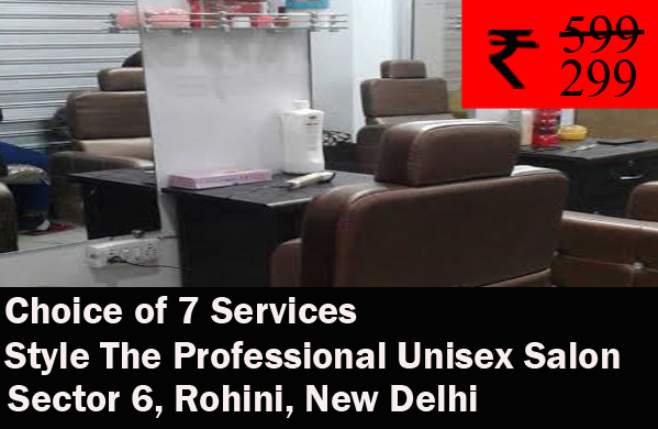 Style The Professional Unisex Salon - Sector 6 Rohini