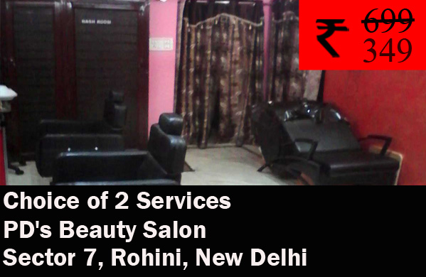 PD's Beauty Salon- Rohini