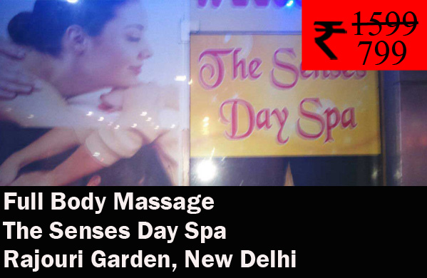 The Senses Day Spa - West Gate Mall Rajouri Garden