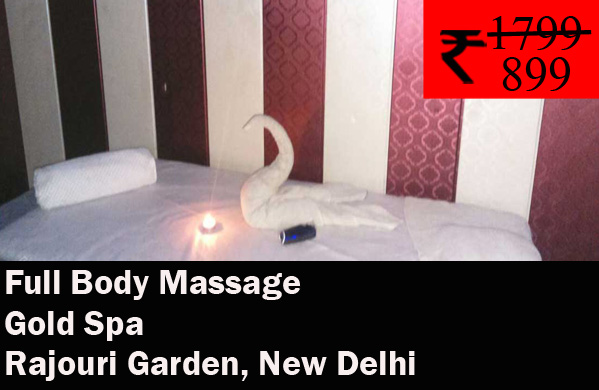 Gold Spa - City Square Mall Rajouri Garden