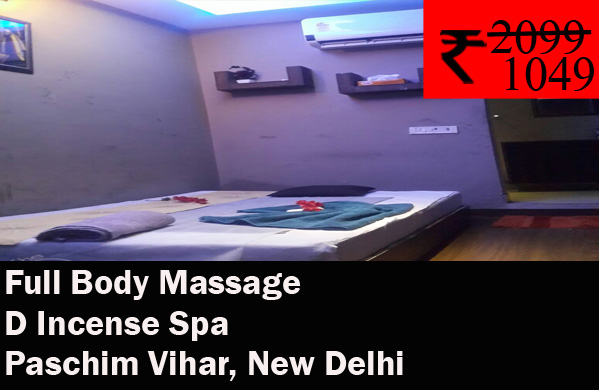 D Incense Spa- Paschim Vihar