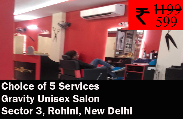 Gravity Unisex Salon- Sector 3, Rohini