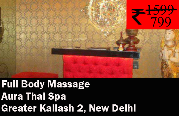 Aura Thai Spa- Greater Kailash 2