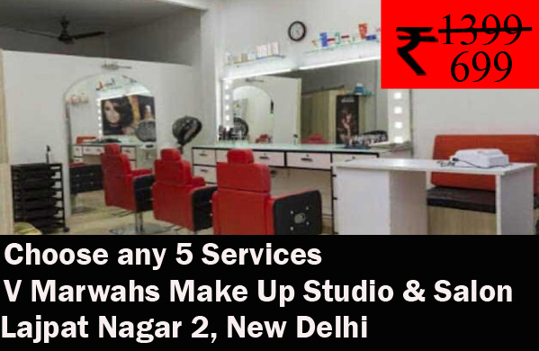 V Marwahs Make Up Studio & Salon