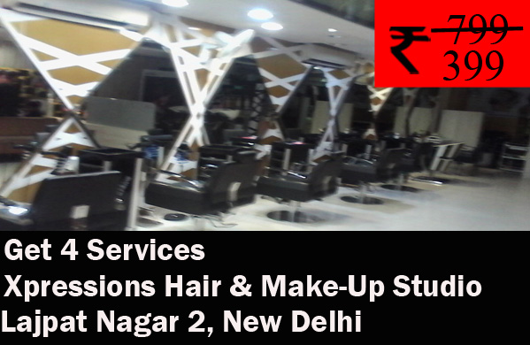 Xpressions Hair & Make-Up Studio - Lajpat Nagar 2