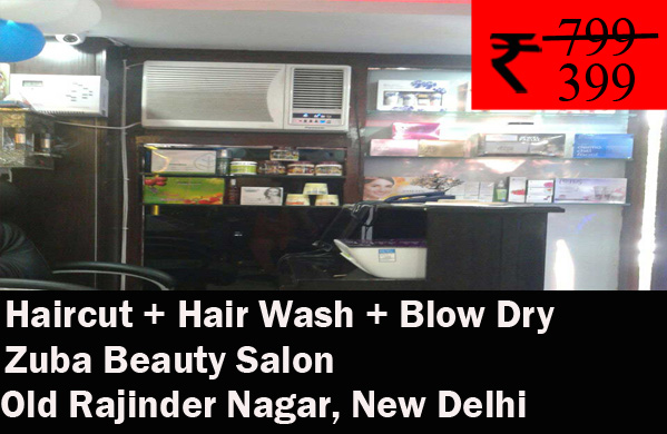 Zuba Beauty Salon- Old Rajinder Nagar