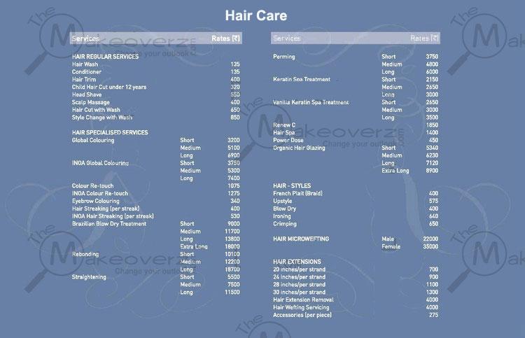 Vlcc indirapuram for Academy for salon professionals price list