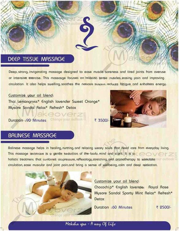 price list of moksha body spa sector 44 gurgaon