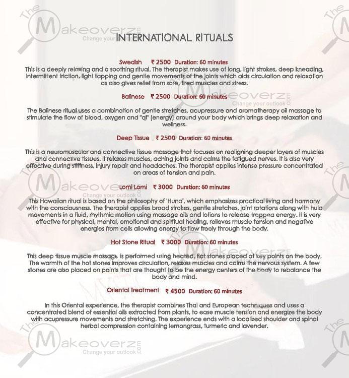 mystic spa rate list