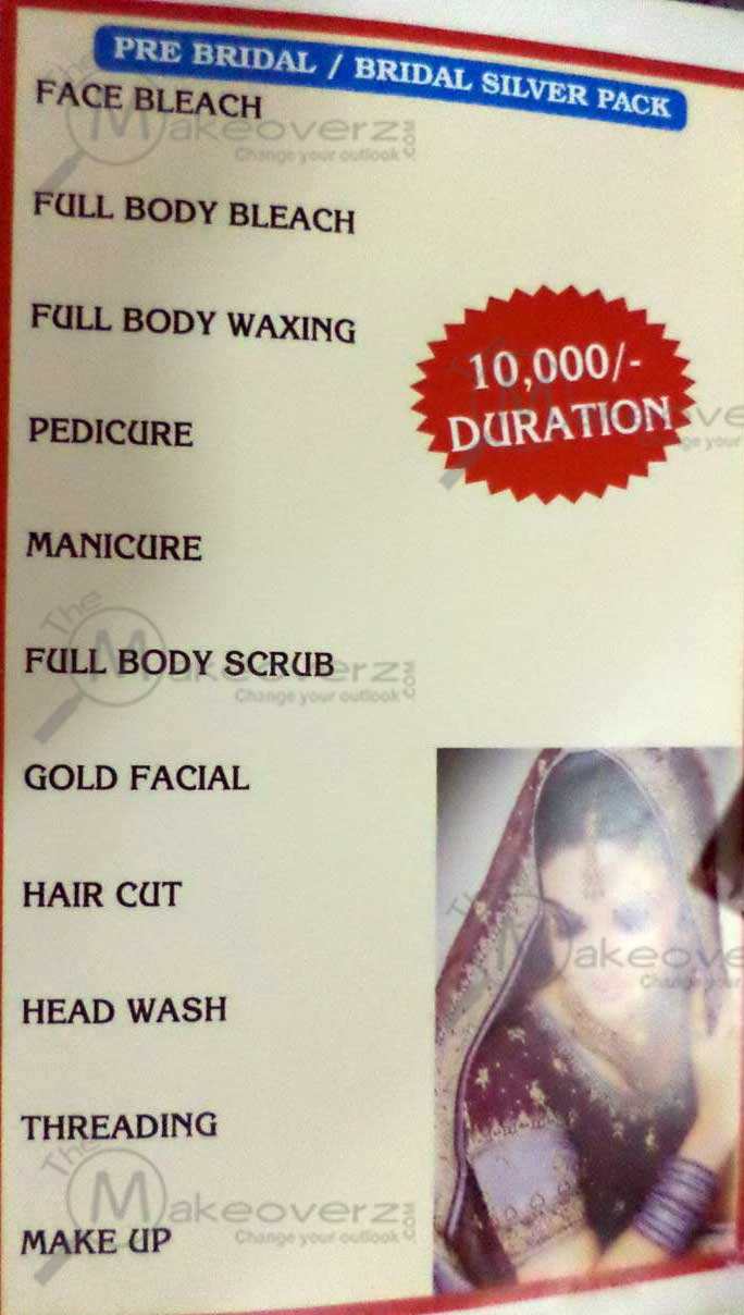 lee salon n spa price list