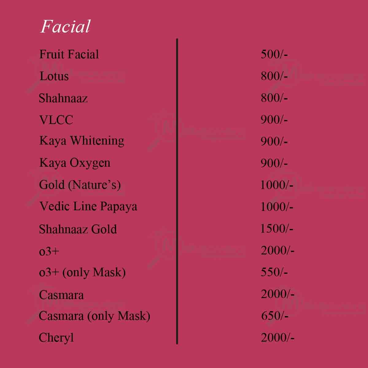Habib salon price list in bangalore dating 7