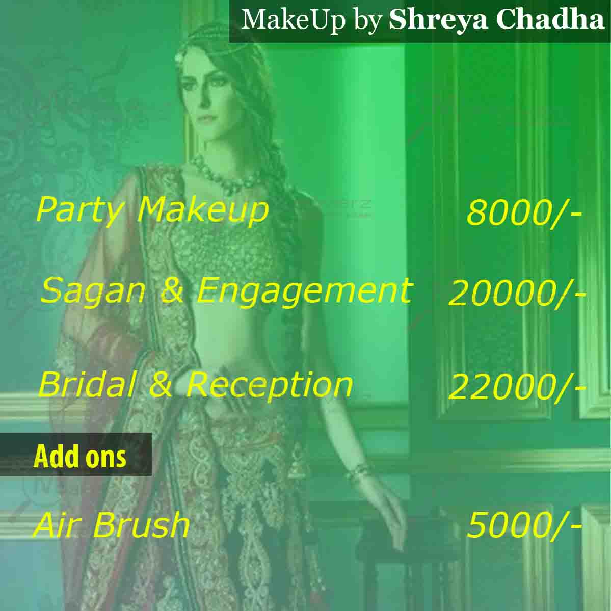 Shreya Chadha Makeovers - DLF Phase 1
