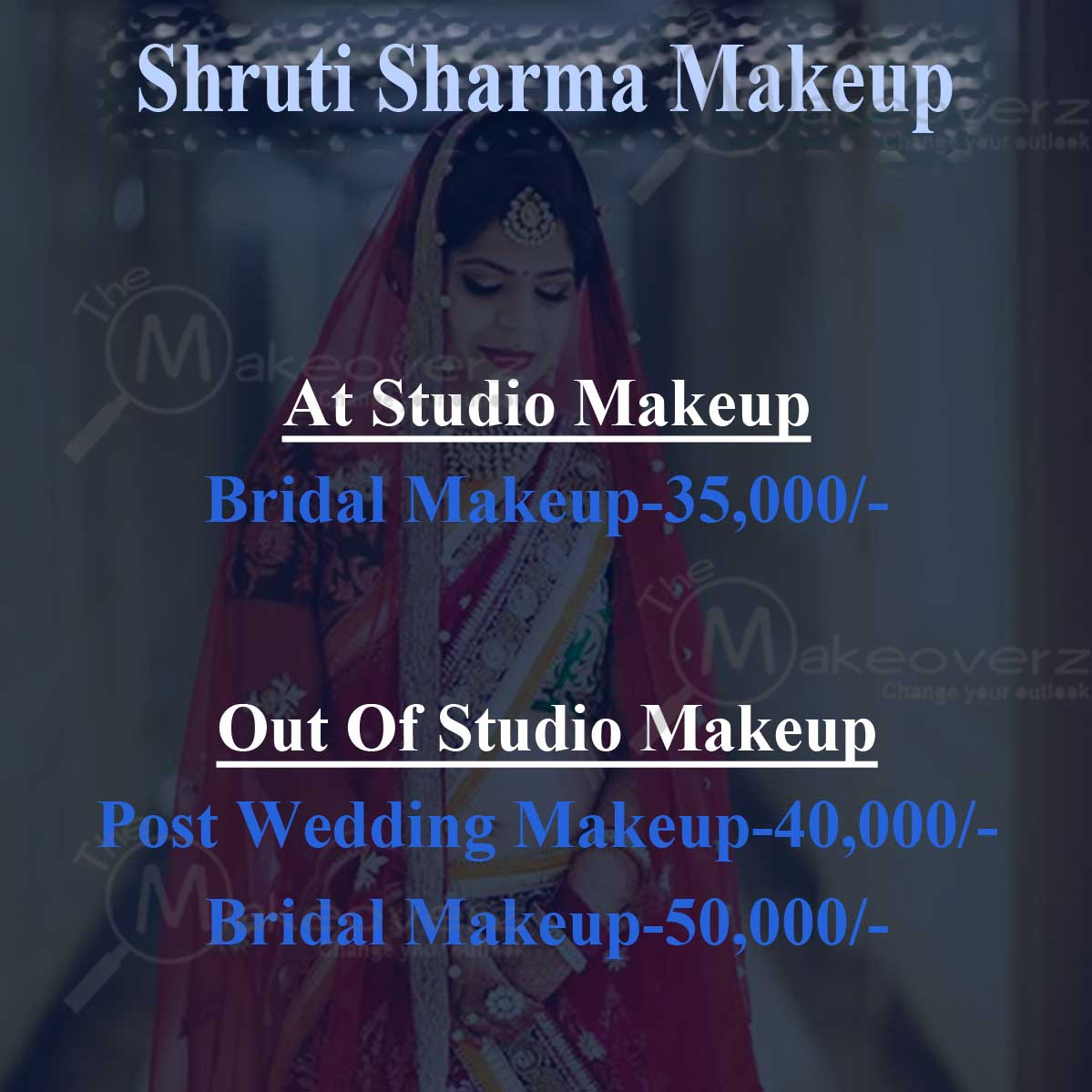 Shruti Sharma Makeup - Chattarpur