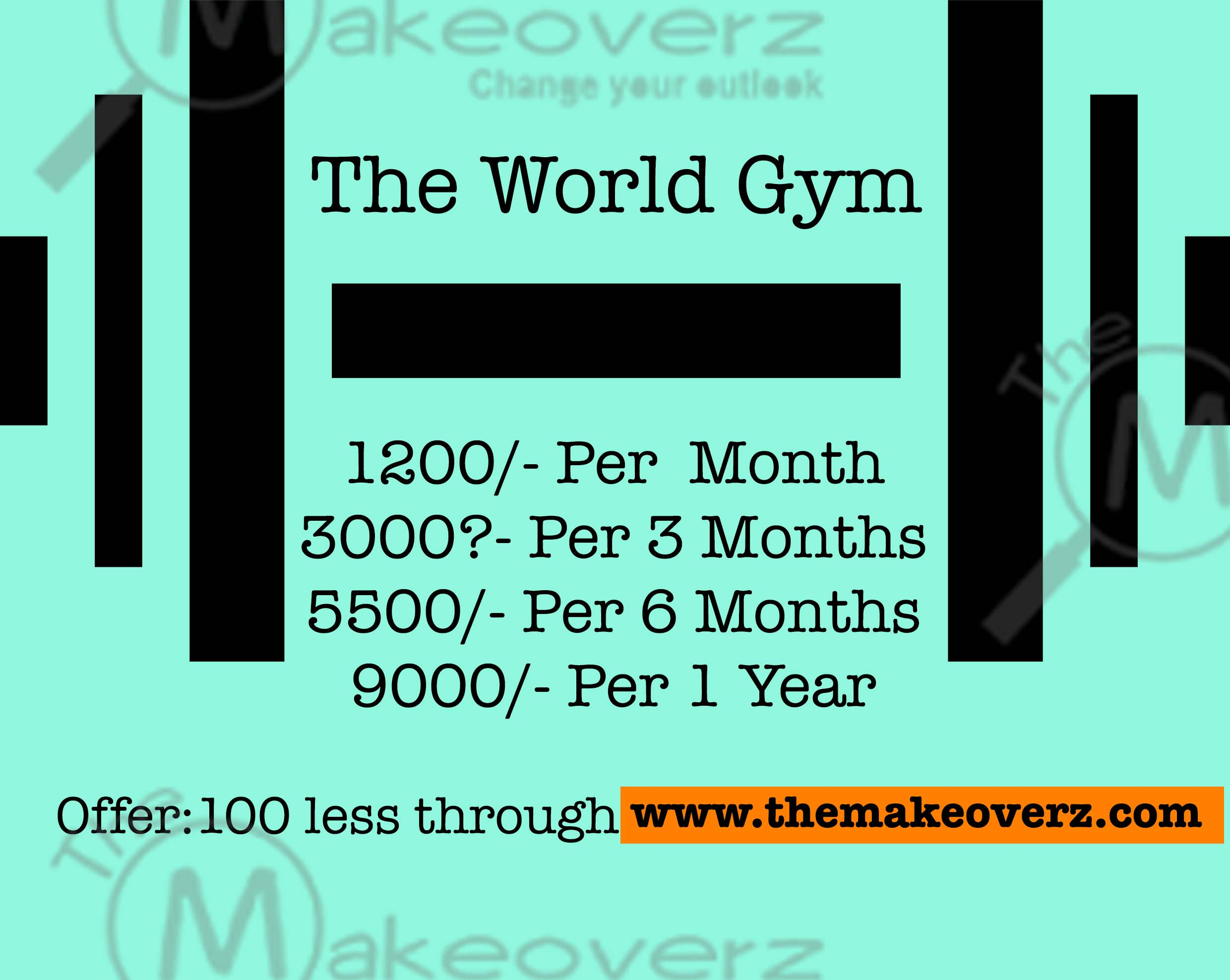 The World Gym rate plan