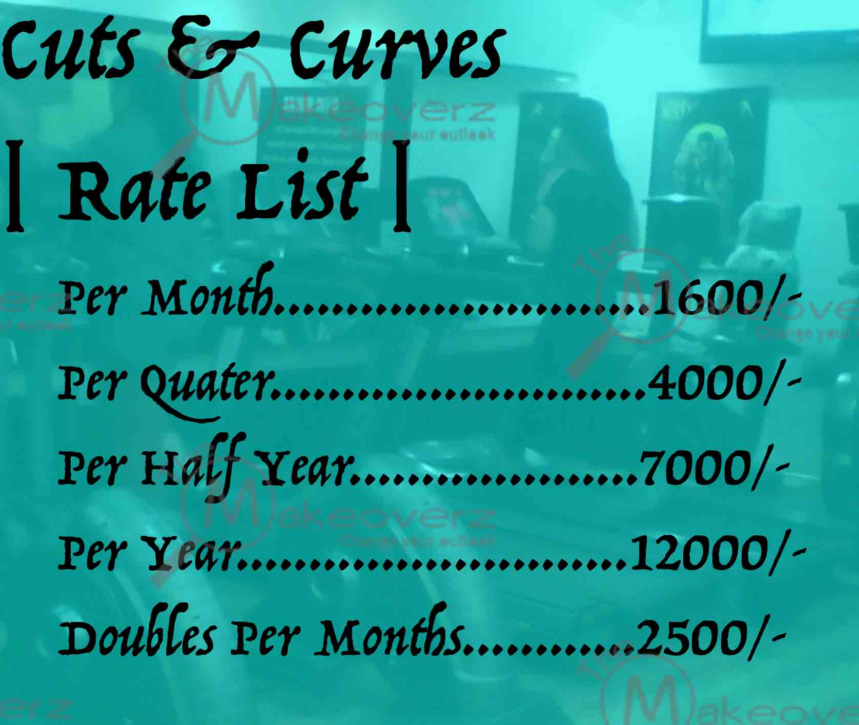 Cuts & Curves - Rate plan